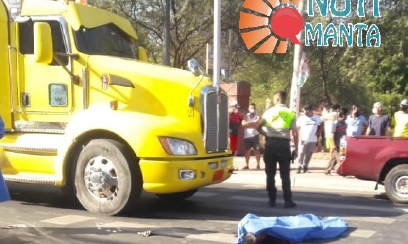 ACCIDENTE DE TRÁNSITO DEJÓ UN MUERTO